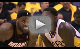 Lance Stephenson Blows in Lebron James' Ear