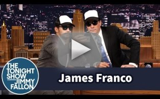James Franco Gives Jimmy Fallon a Selfie Lesson