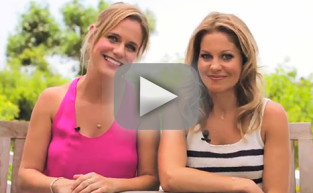 Candace Cameron Bure & Andrea Barber Interview