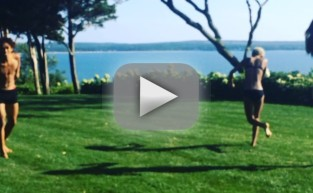 Kendall Jenner and Jaden Smith: Swimsuit Dance!