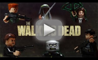 Legos Act Out The Walking Dead Season 5 Trailer