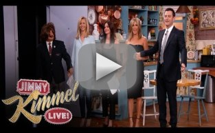 Jimmy Kimmel Stages Friends Reunio