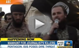 Steven Sotloff: Threatened in James Foley Video