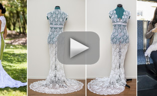 Homemade Wedding Dress: Stop Motion Awesomeness!