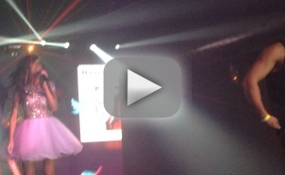 Farrah Abraham Sings Blowin'