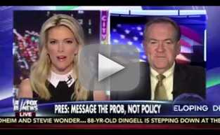 "Megyn Kelly Mispronounces ""Huckabee"""