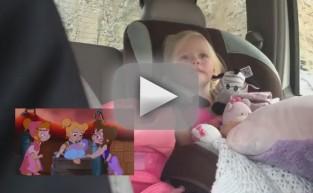 Toddler Bawls Over Cartoon Penguin Reunion