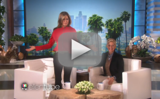 Jennifer Aniston on Ellen: Look at Her Breasts!