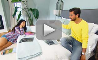 Kourtney Kardashian and Scott Disick: Fight, Fight, Fight!