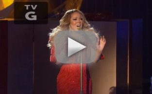 Mariah Carey NBC Performance