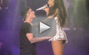 Justin Bieber and Ariana Grande Duet Fail