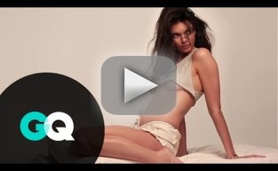 Kendall Jenner: Behind the Scenes at GQ