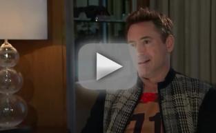 Robert Downey Jr. Walks Out of Interview