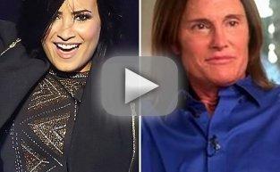 Demi Lovato Pays Tribute to Bruce Jenner