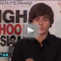 High School Musical Press Conference