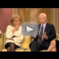 John McCain on The View, Part II
