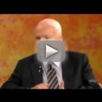 John McCain on The View