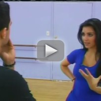 Kim Kardashian and Mark Ballas: The Mambo