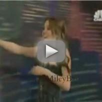 Miley on Leno
