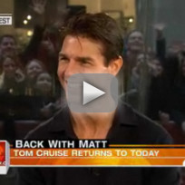 Tom Cruise on the Today Show