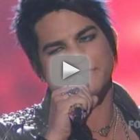 Adam Lambert Rocks