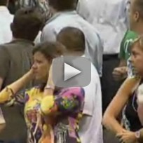 LaLa Vazquez Gets in Fight at Nuggets-Mavs Game