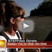 Sarah Palin on the Today Show