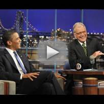 Obama Letterman Top 10