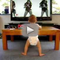 Baby Dances to Single Ladies