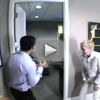 Ellen Scares Guests