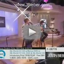 Justin Bieber on QVC