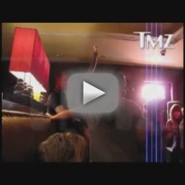 Miley Cyrus Grinding on Adam Shankman