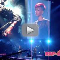 Rihanna and Eminem Live