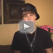 Justin Bieber PSA