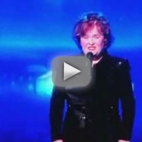 Susan Boyle on The View