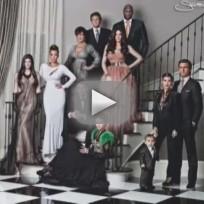 Kardashian Christmas Card: Behind the Scenes