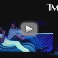 Usher Kicked in the Face in Concert
