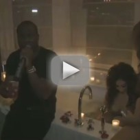 Diddy Party: Model's Hair Catches on Fire!