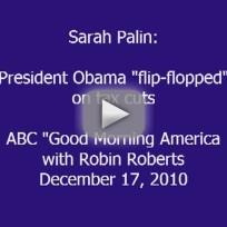 Sarah Palin Speaks to GMA