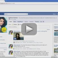 Selena Gomez Facebook Hacker