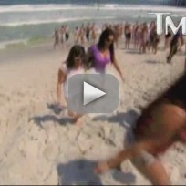 Snooki wasted on jersey shore
