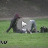 Miley cyrus and josh bowman snuggling