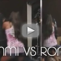Ronnie-Sammi Fight on Jersey Shore