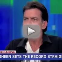 Charlie Sheen Interview: I've Never Hit a Woman