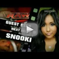 WWE Raw: Snooki Promo!