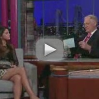 Selena Gomez on The Late Show: Avoiding Bieber...