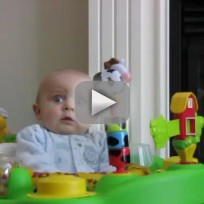 Mom Blows Nose, Baby Laughs