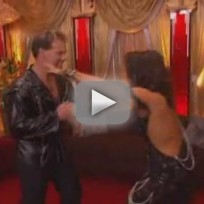 DWTS Week One - Chris Jericho & Cheryl Burke