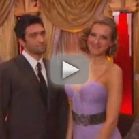 DWTS Week One - Petra Nemcova & Dmitry Chaplin
