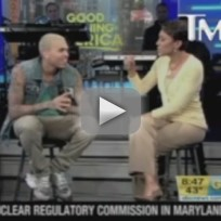 Chris Brown on Good Morning America
